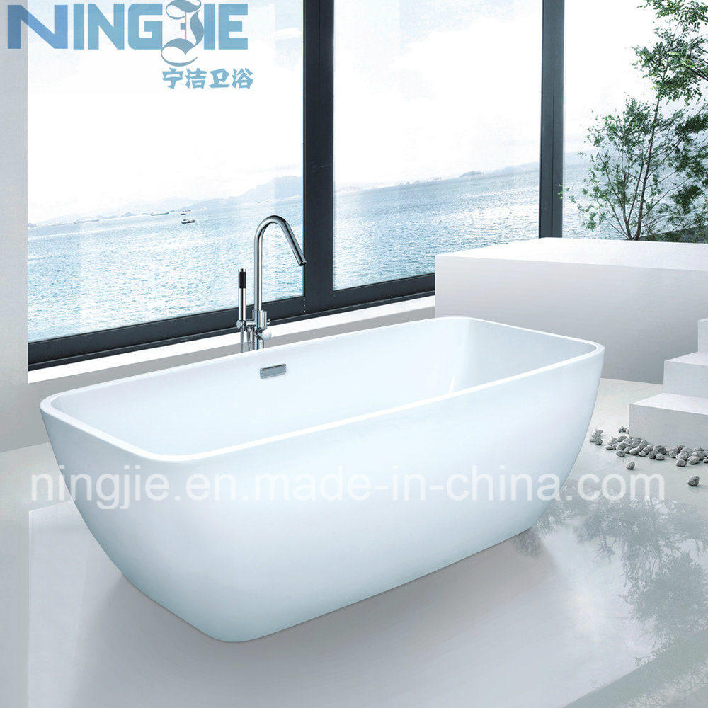 China Ningjie Acrylic Modern Freestanding Bathtub (9008)   China Bathtub,  Freestanding Bath Tub