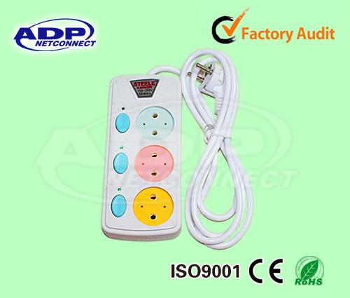 China UK Type 3 Way Socket Outlet Power Strip, British Standard ...