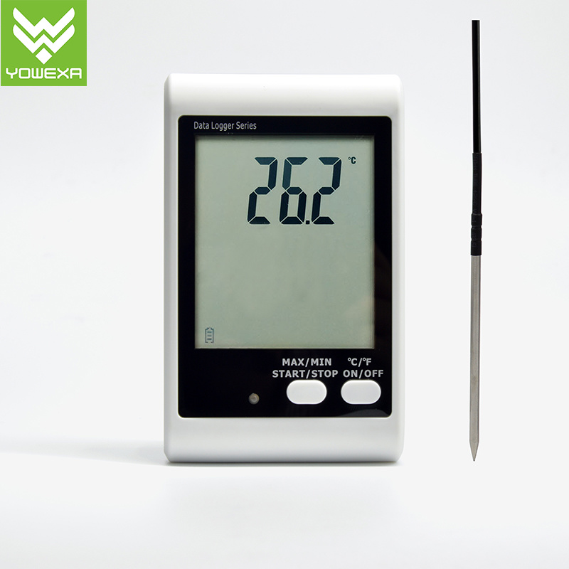 Sound and Light Alarm Temperature Data Logger with External Probe, LCD Display pictures & photos