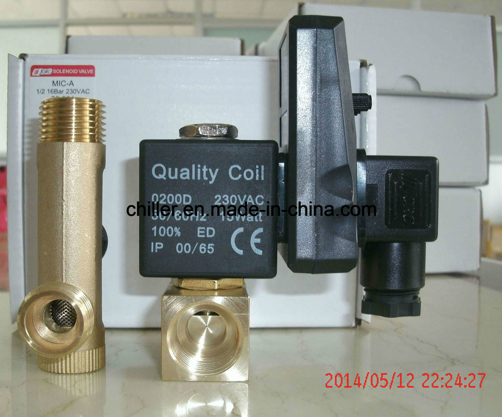 China Timer Auto Drain Valve For Air