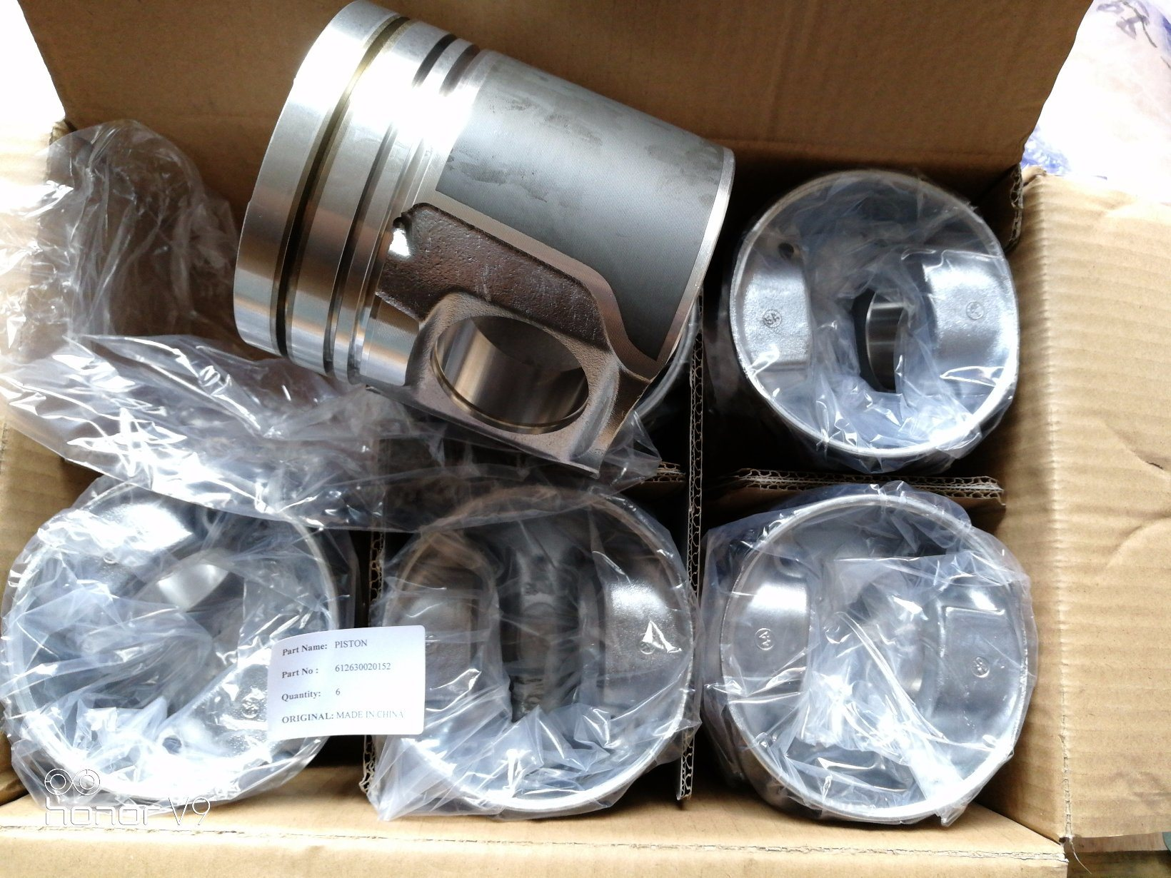 China Weichai Engine Spare Parts 612630020152 Piston for LG936L ...