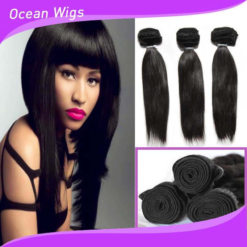 China Chocolate Hair Straight Weaving Nigeria Best Selling Human