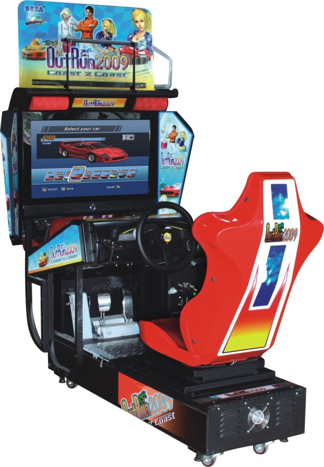 china driving arcade racing game machine outrun hd for sale