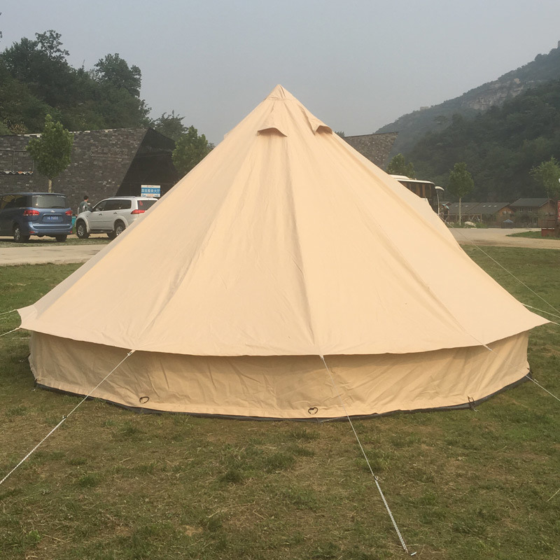 quality design c9407 1331b [Hot Item] Wholesale Camping Biggest Family Tent Canopy Bell Tent