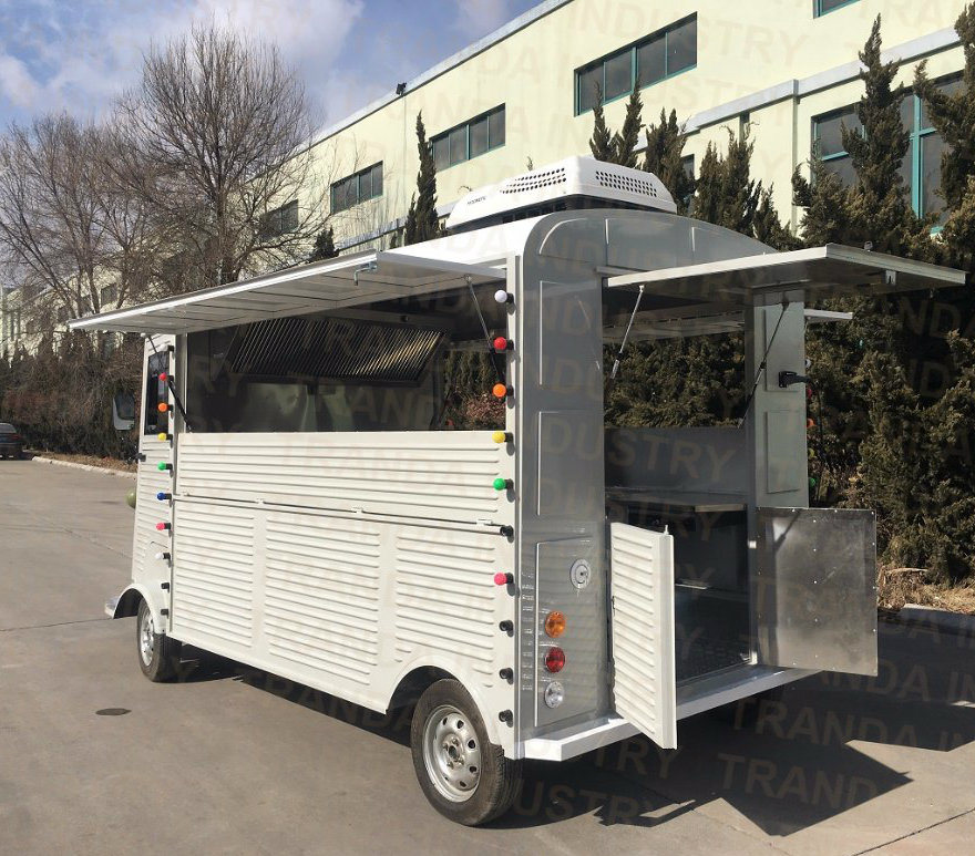 2018 China New Design Electric High Quality Food Cart Bus pictures & photos