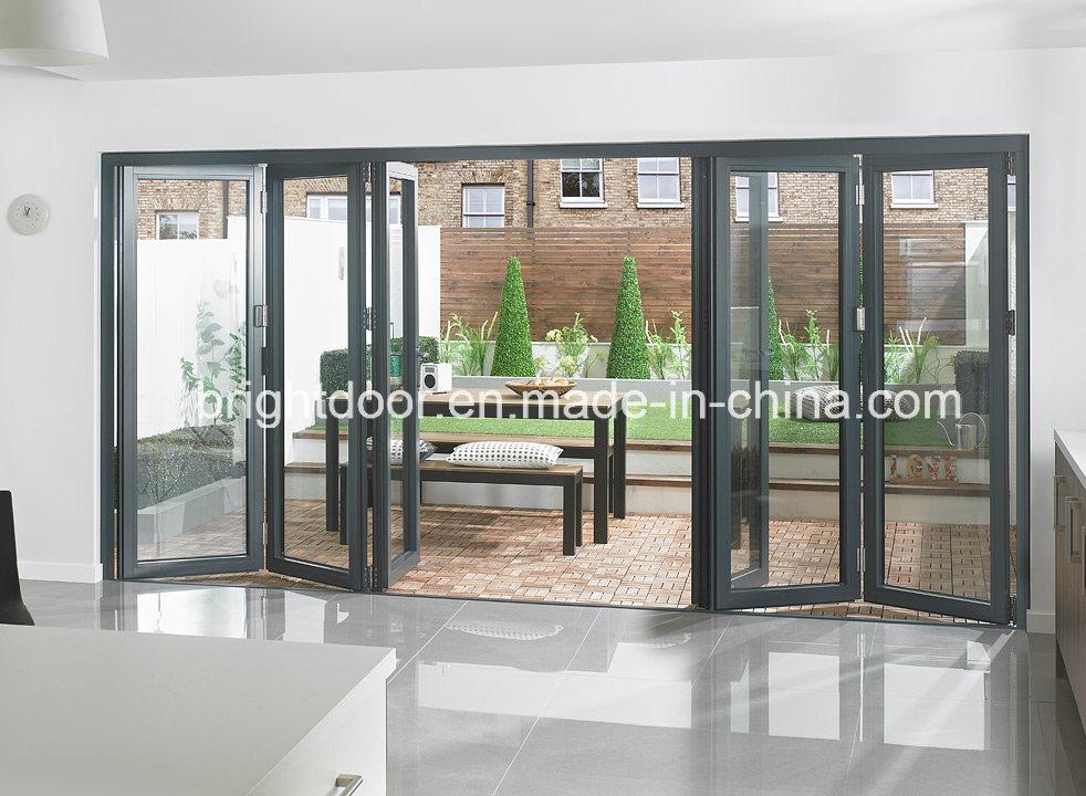 China Modern Door Aluminium House Bifold Interior Door Model China