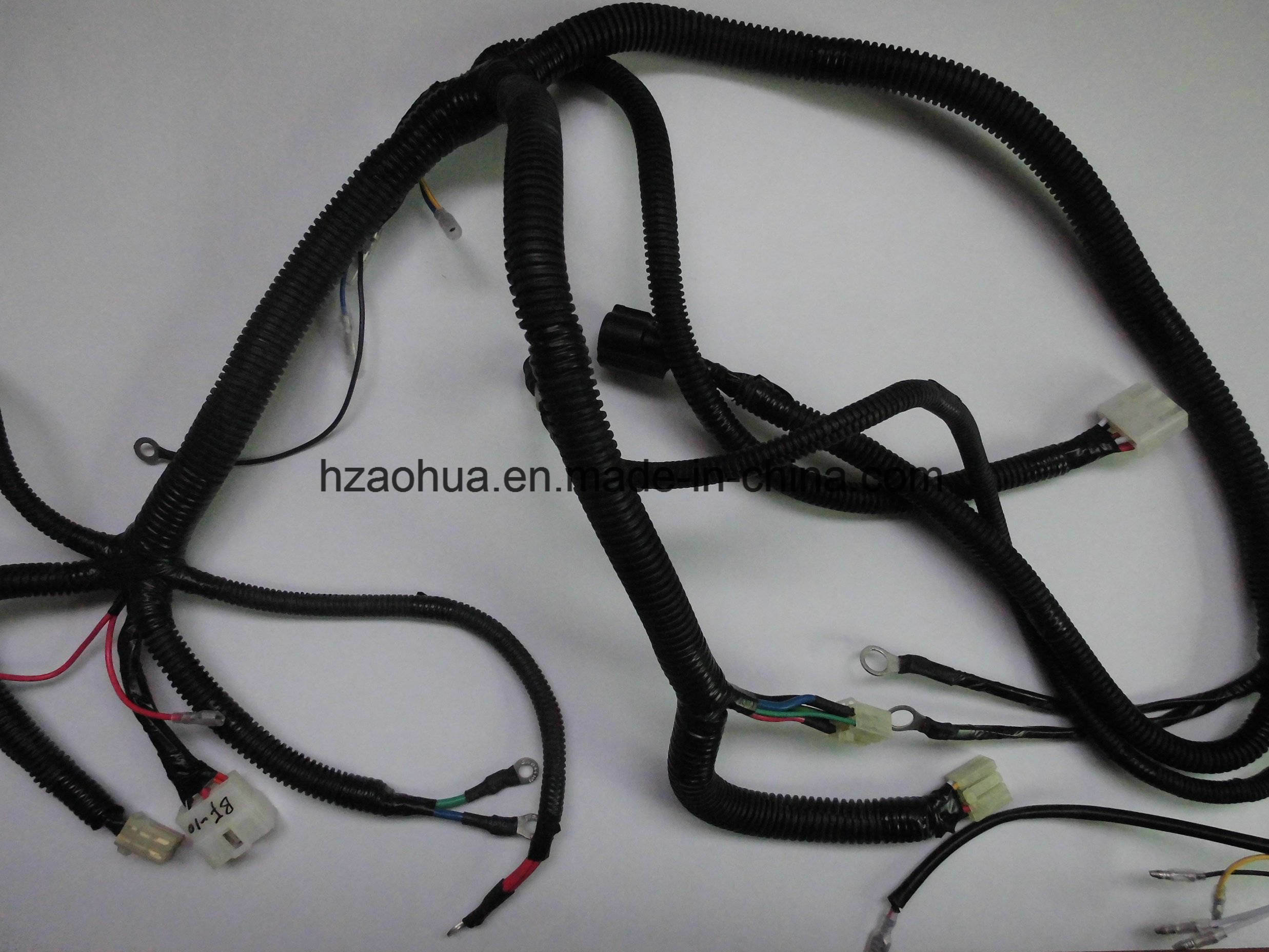 China Electric Car Wire Harness Cable Assembly Home Wiring For An