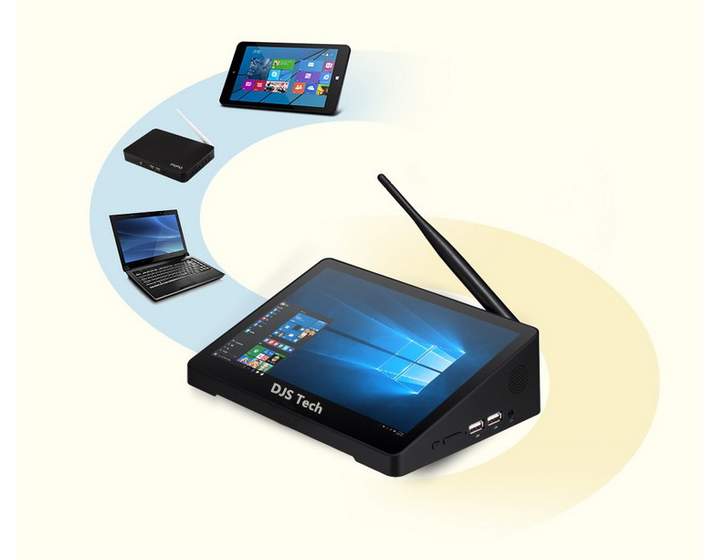 Quad Core Mini PC / Mini Computer with 7inch Touch Screen pictures & photos