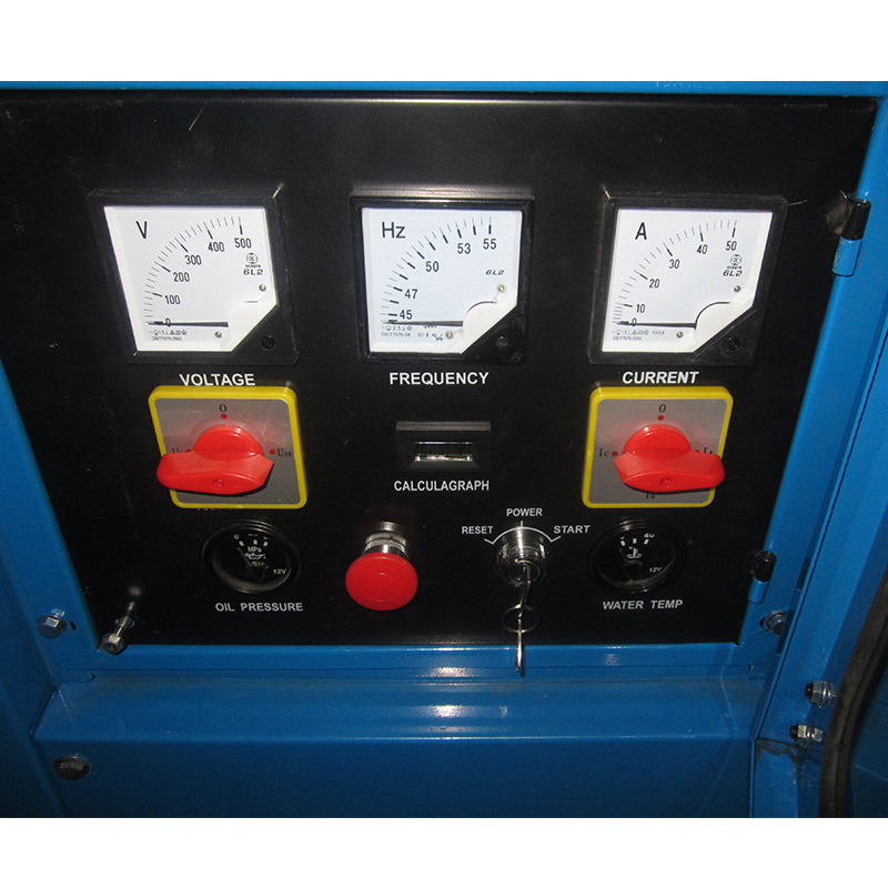 Cummins Open Type LCD Panel Diesel Generator Set pictures & photos