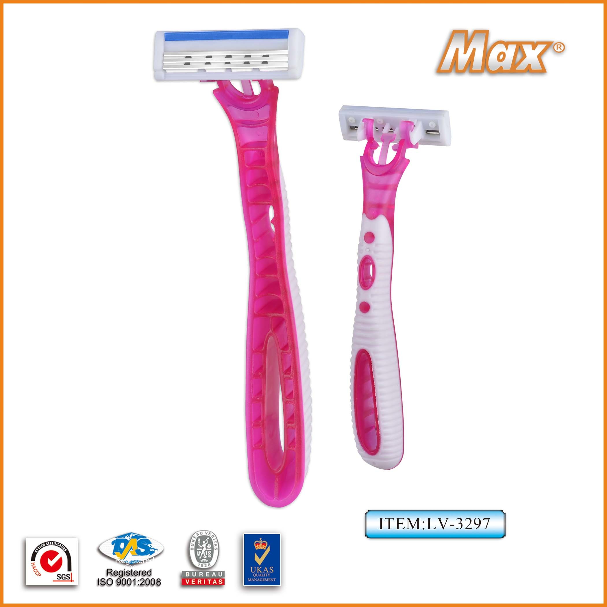 New Design Triple Blade Disposable Shaving Razor pictures & photos