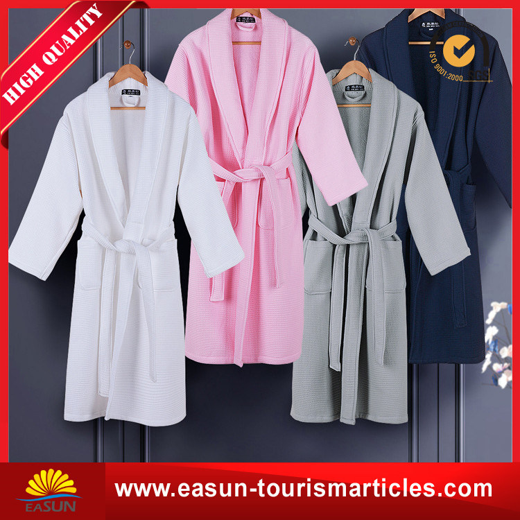 All Color Hotel Velour Cheap Cotton Solid Color Bathrobe pictures & photos