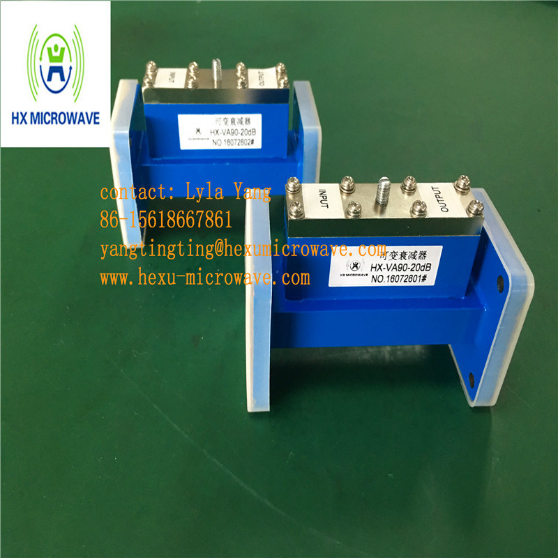 Hexu Microwave Wr90 Tunable Waveguide Attenuator pictures & photos