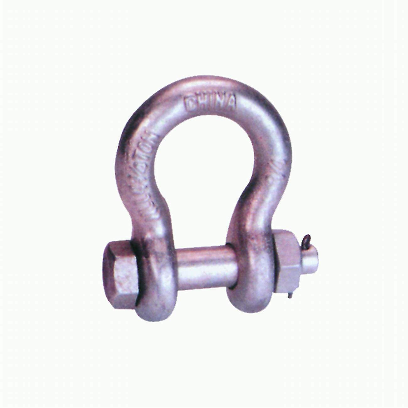U. S. Type Drop Forged Bolt Type Safety Anchor Shackle