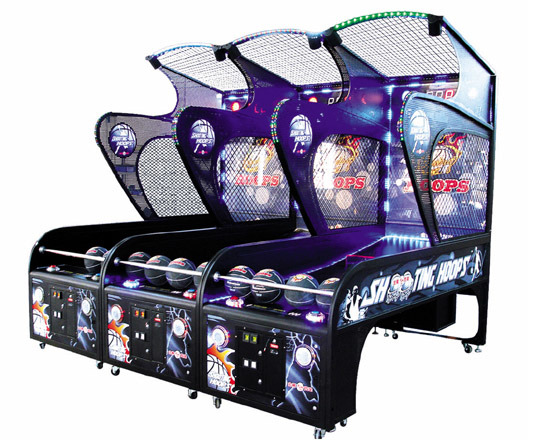 Arcad Game Street Basketball Arcade Game Machines (Crazy Sho NC-RM03)