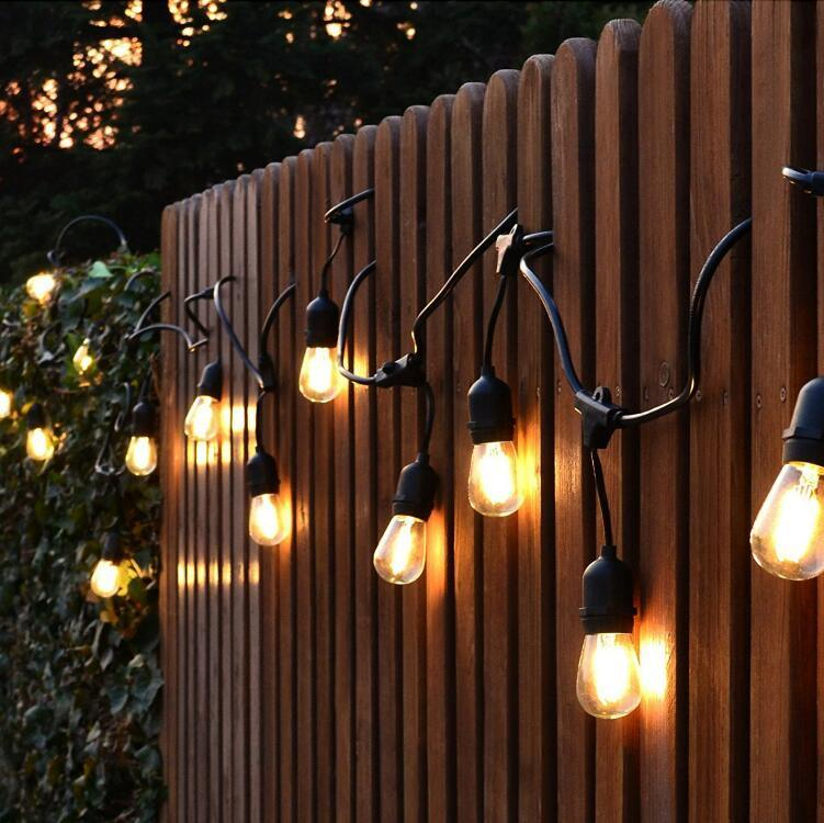 China waterproof 10m 10 led string lights indoor outdoor commercial waterproof 10m 10 led string lights indoor outdoor commercial grade e26 e27 street garden patio backyard holiday string lighting mozeypictures Image collections