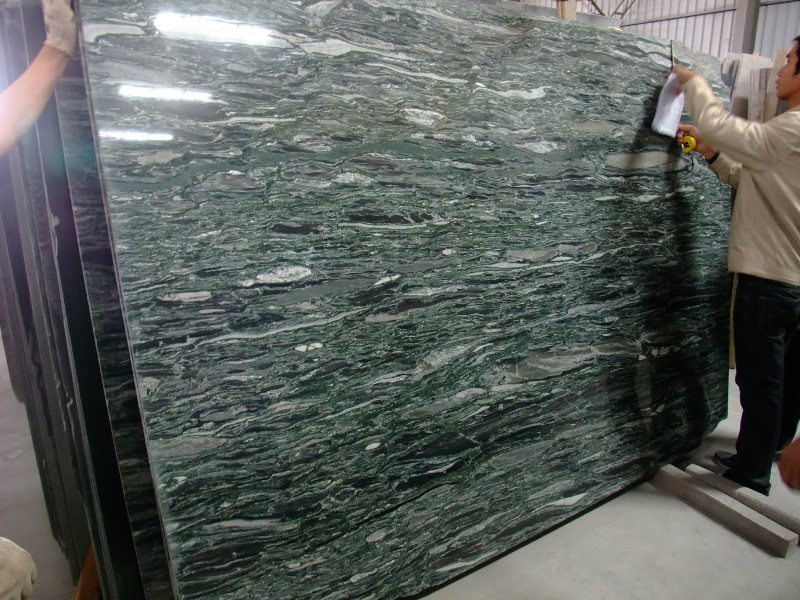 Olive Green Marble