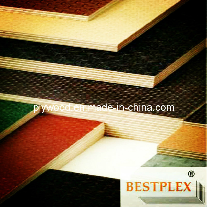 Anti-Slip Film Faced Plywood, Construction Plywood, Shuttering Plywood pictures & photos