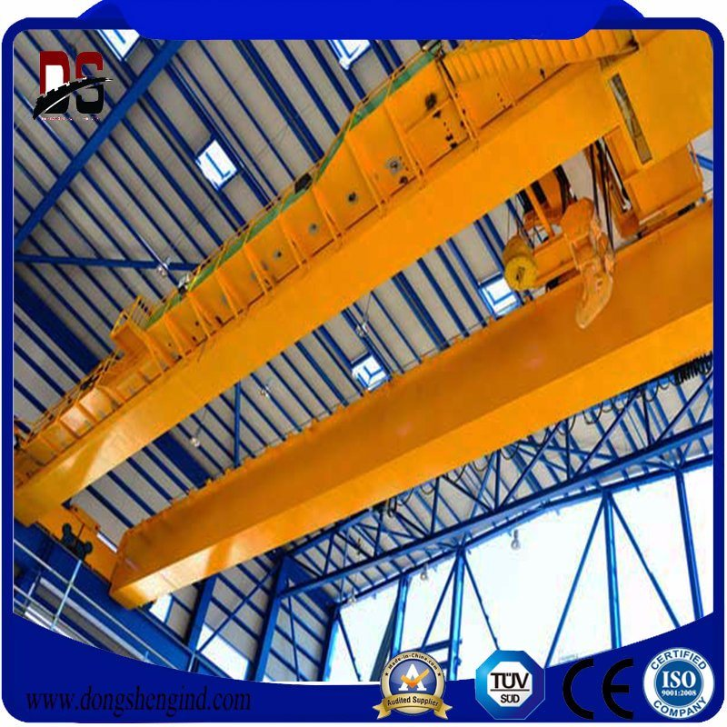 LH 10T15M Double Girder Overhead/workstation bridge crane