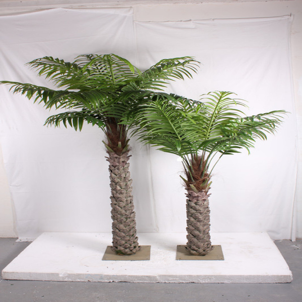 China Wholesale Artificial Palm Bonsai Tree With Large Leaves Sja1344 China Artificial Tree And Artificial Palm Tree Price