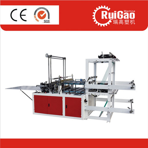 Automatic Biodegradable Plastic Tshirt Carry Bag Making Machine Price pictures & photos