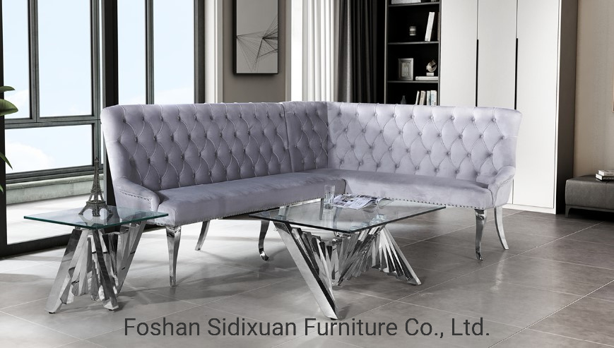 China Modern Home Furniture Polished, Stainless Steel Furniture