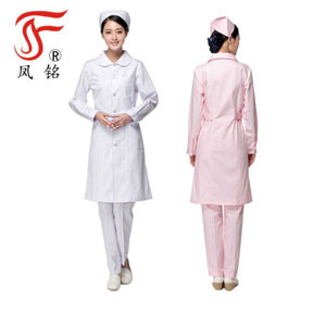 7cceacd13dc Long Sleeves Hospital Nursing Uniform of Cost Performance New Style Nurse  Dress Unique Design Wholesale Customed Factory.