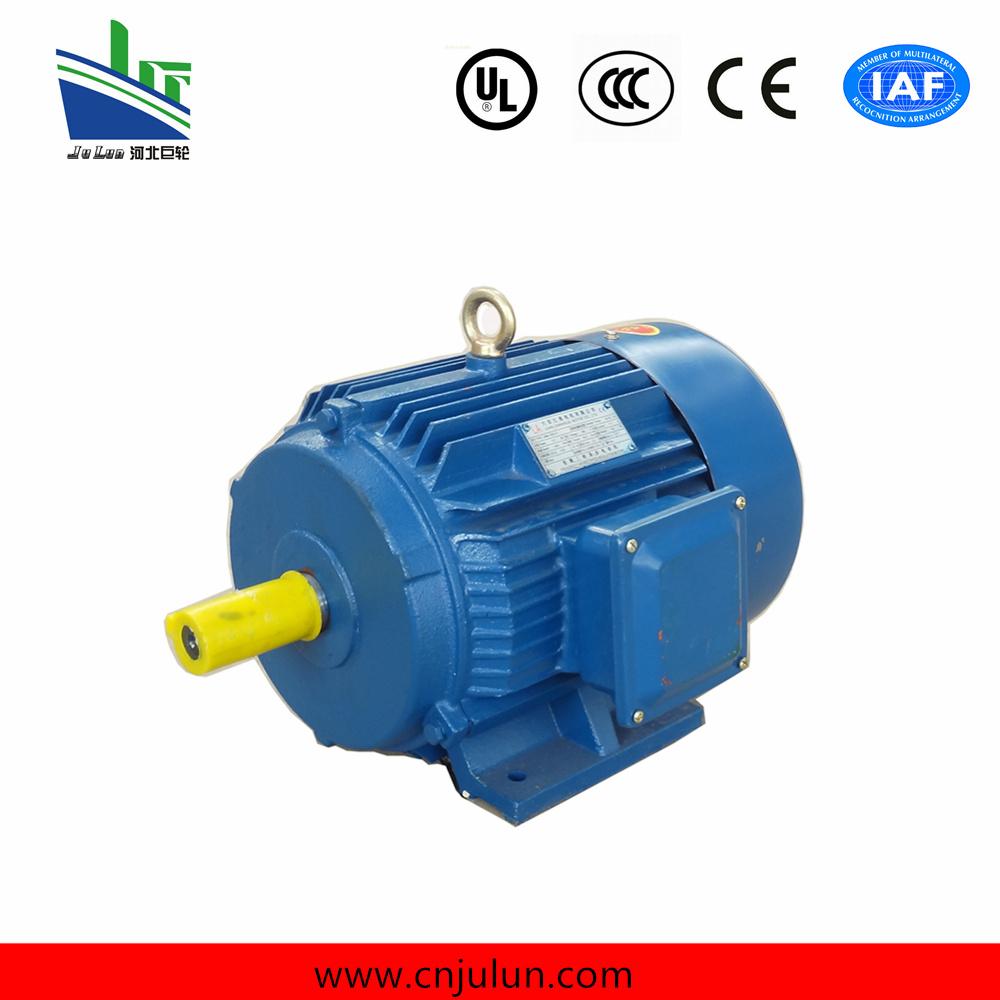 China Y Y2 Squirrel Cage Motor Electric 3kw 50hz 380v Ye3 High Efficiency
