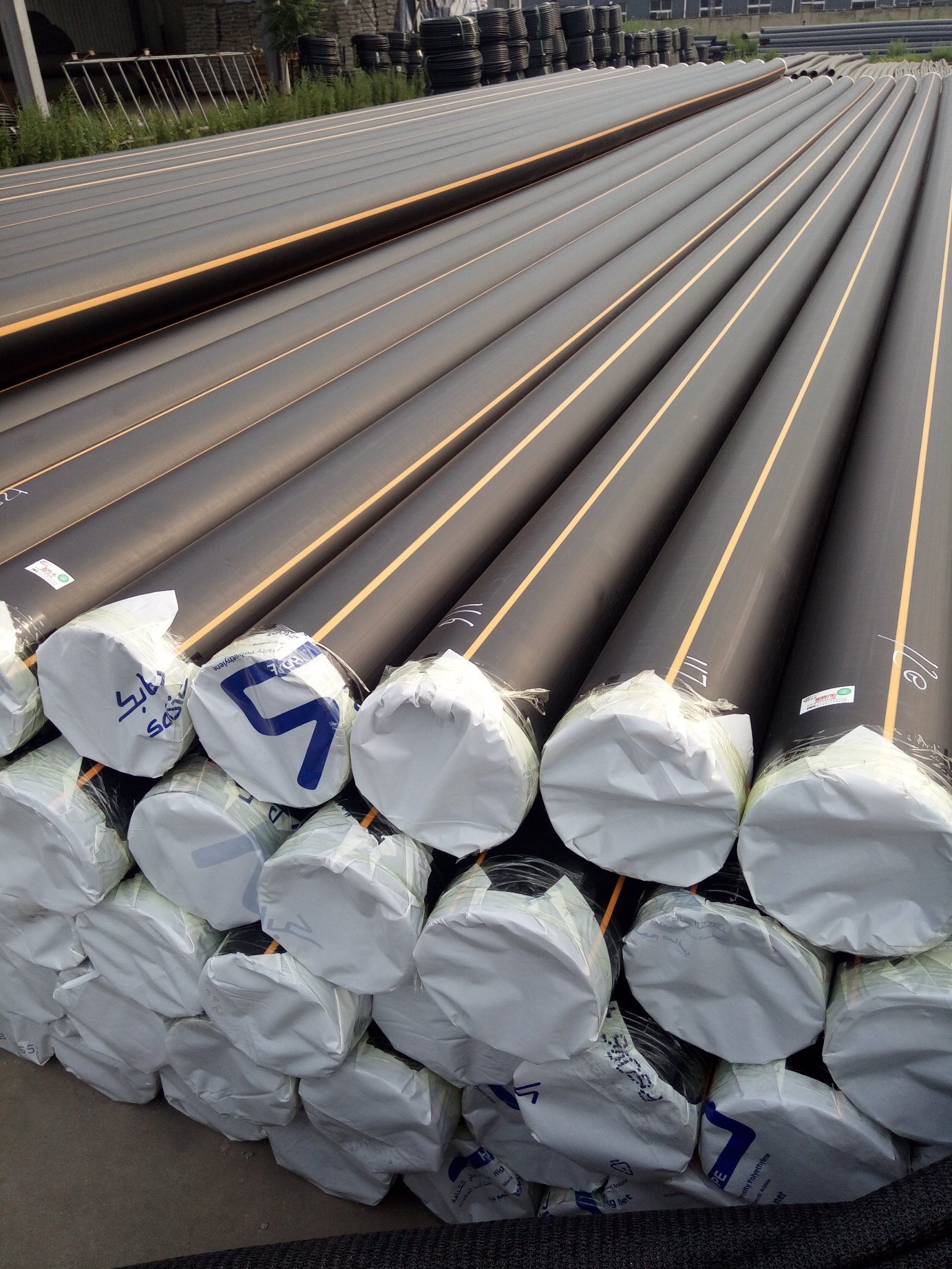 HDPE Flexible Natural Gas Supply Pipe, Oil pictures & photos