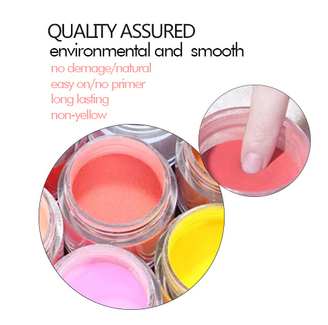 [Hot Item] OEM Private Label 1000 Color Acrylic Nail Dipping Powder
