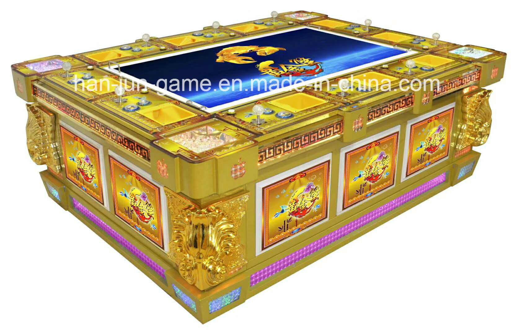 New Popular Fishing Coin Operated Gambling Slot Game Machine pictures & photos