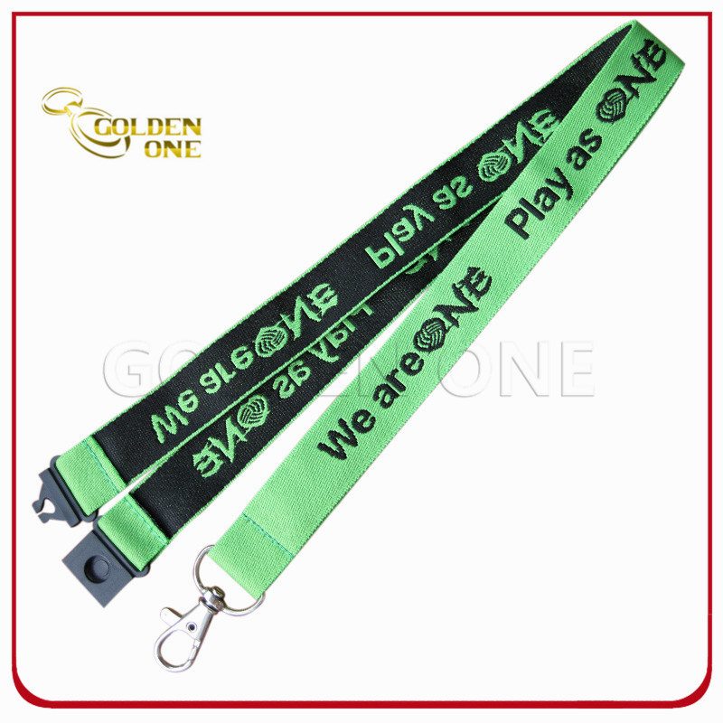 Hot Sale Excellent Quality Custom Polyester Jacquard Lanyard