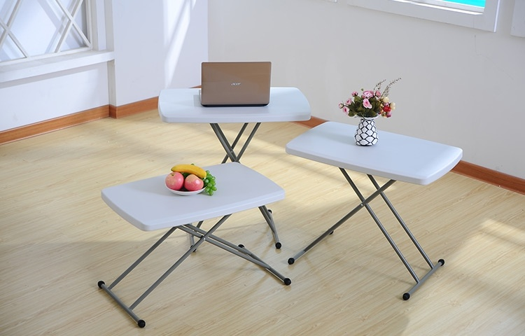 China Kids Plastic Desk And Chair Set Foldable Writing Desk Height