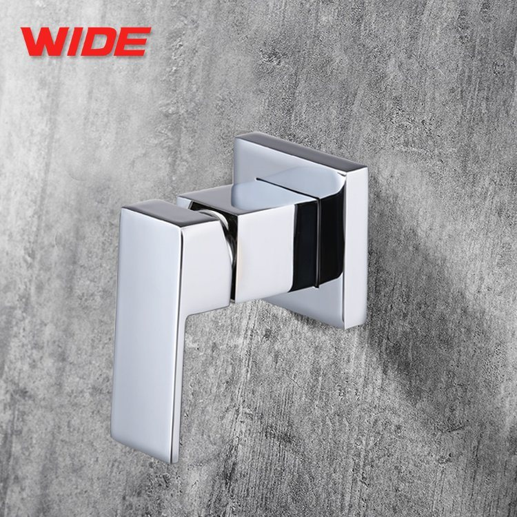 China Weiqiang Sanitary Ware in-Wall Square Shower Faucet Brass ...