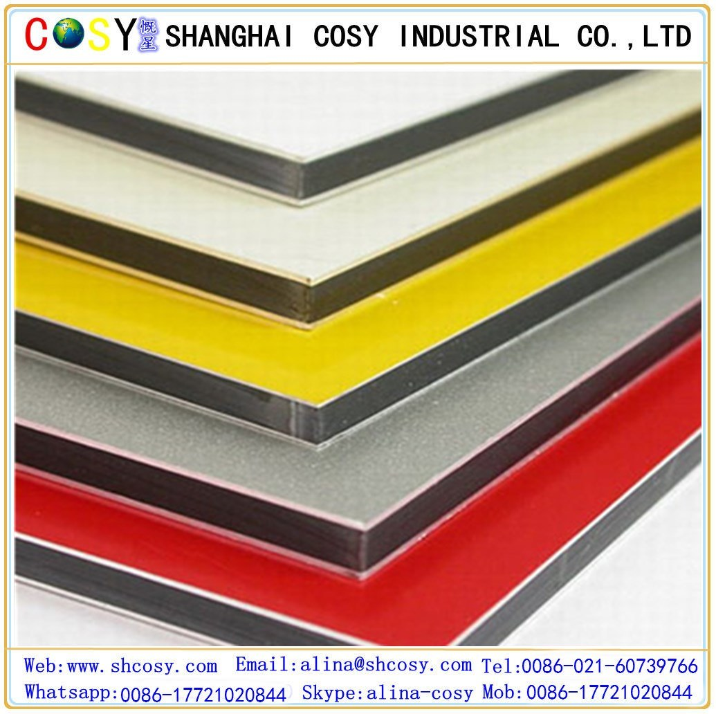 China Exterior Wall Decorative Aluminum Composite Panel - China ...