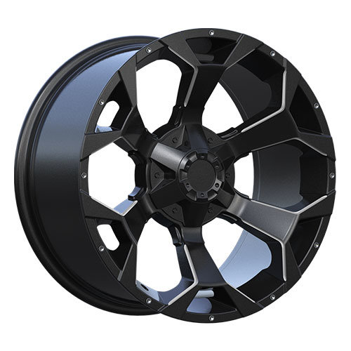 20*10 Inch Big Size Alloy Wheel in Black