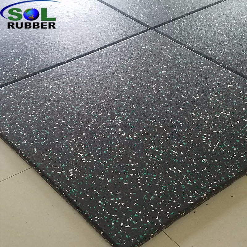Gym Fitness Rubber Flooring
