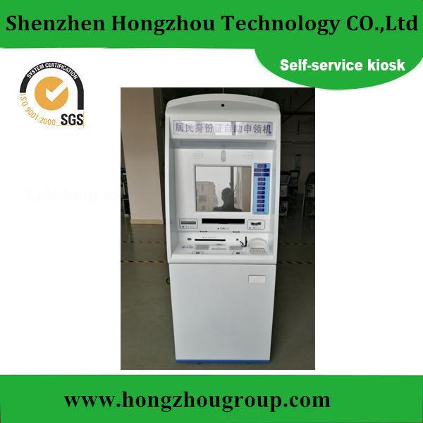 [Hot Item] China ID Card Application Self Service Kiosk Shenzhen  Manufacturer