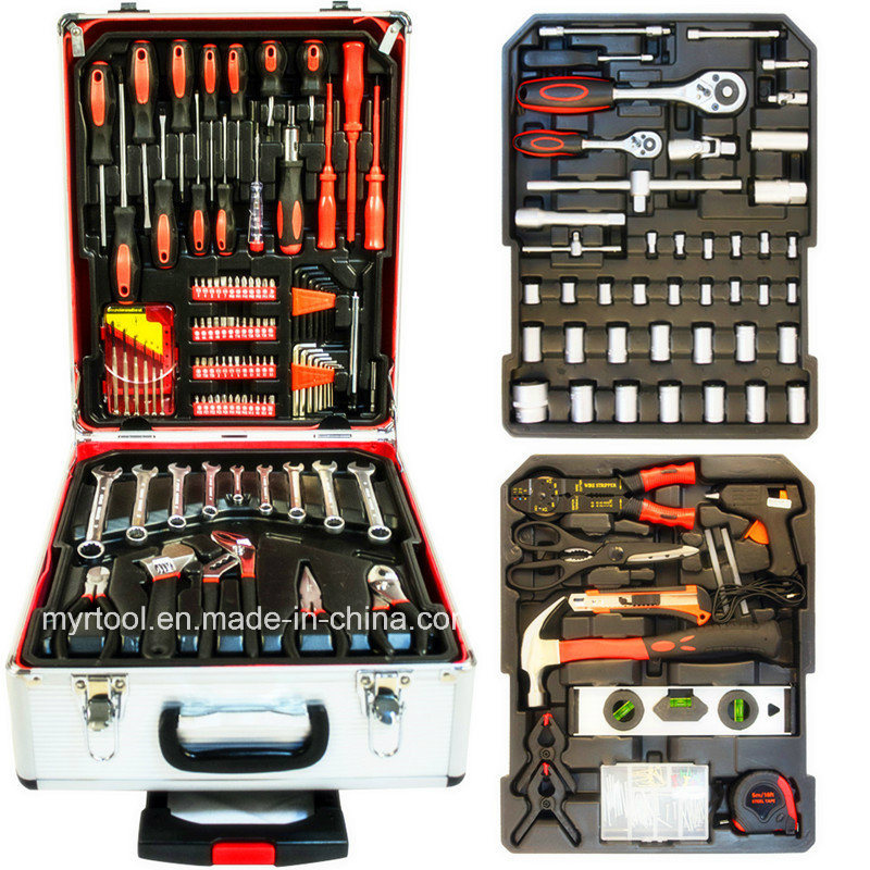 251PCS Professional Germany Quality Trolley Alumium Case Tool Set (FY251A) pictures & photos