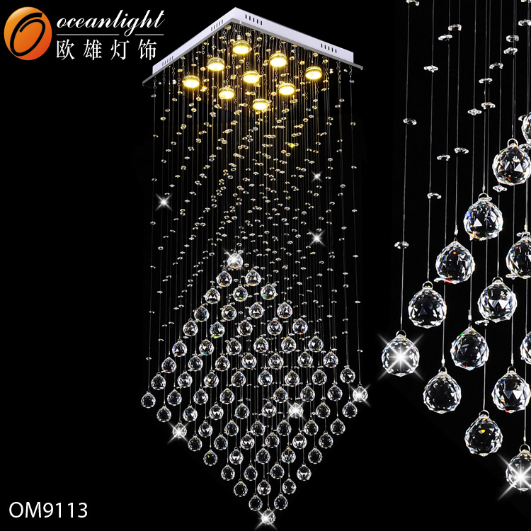 China Modern Led Chandeliers Crystal