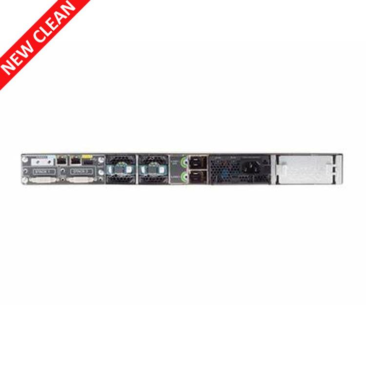 Cisco WS-C3750X-24T-L 24-Port Gigabit 3750X Switch w// AC Power 1 Year Warranty
