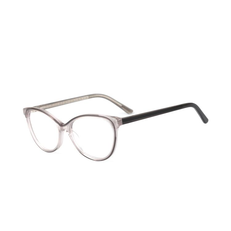 Eyeglass Trends 2020.Hot Item 2020 Fashion Trend Glasses Frame Vintage Laminate Acetate Transparent Eyewear