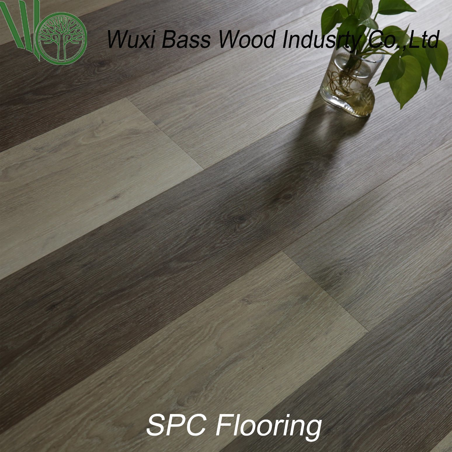 China Easy Installation And Waterproof Less Expansion Spc Flooring Pvc Floor Wpc