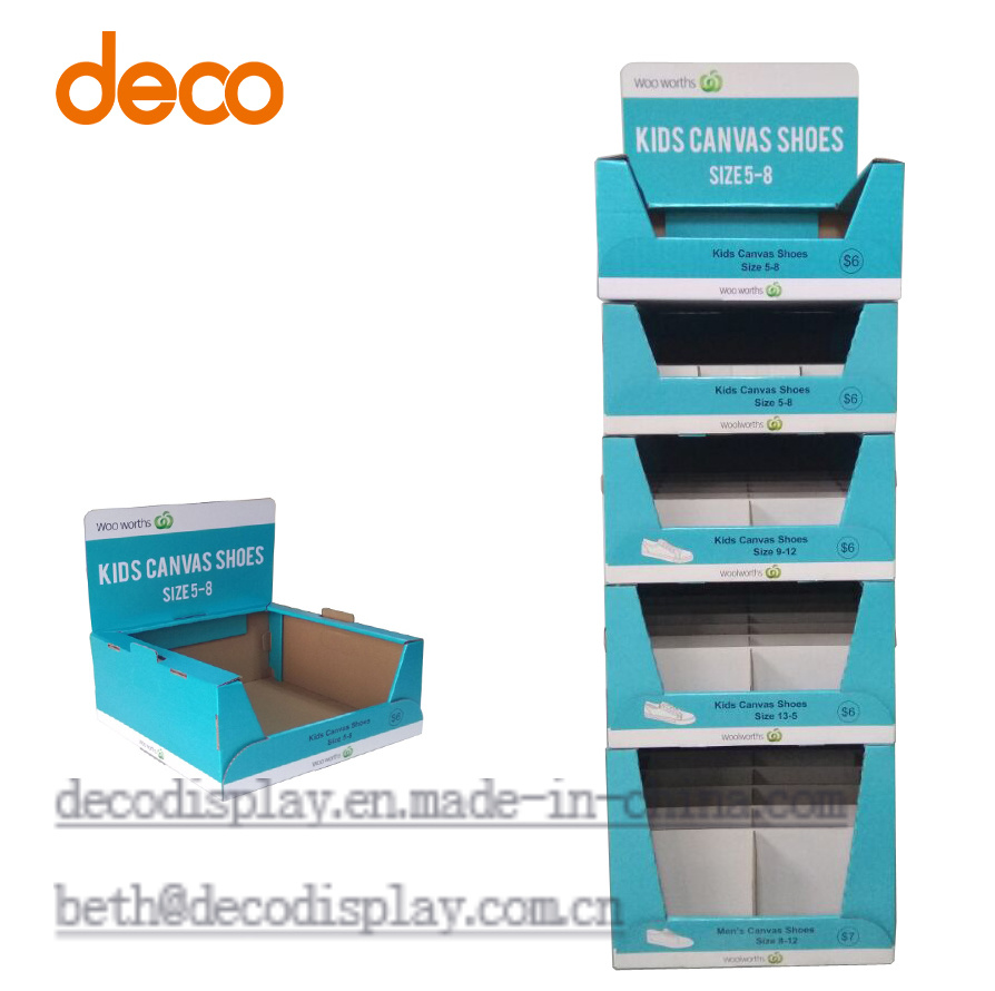 Floor Display Cardboard Stackable Display Carton for Retail pictures & photos