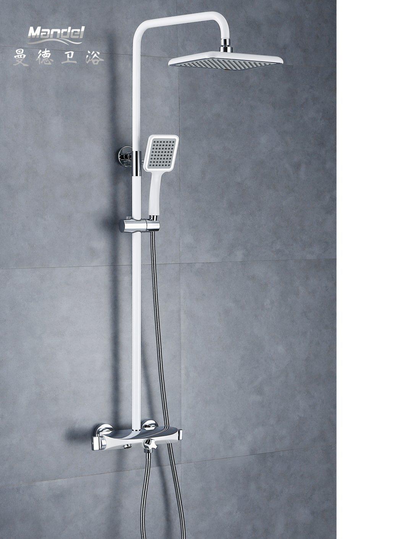 Hot Item Mandel Excellent Handheld Light Water Bath Home Bathroom Shower Head Glow