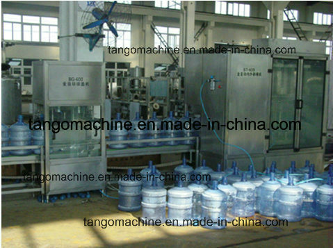 Complete 5 Gallon 3in1 Barrel Pure Drinking Bottle Water Bottling Machine pictures & photos