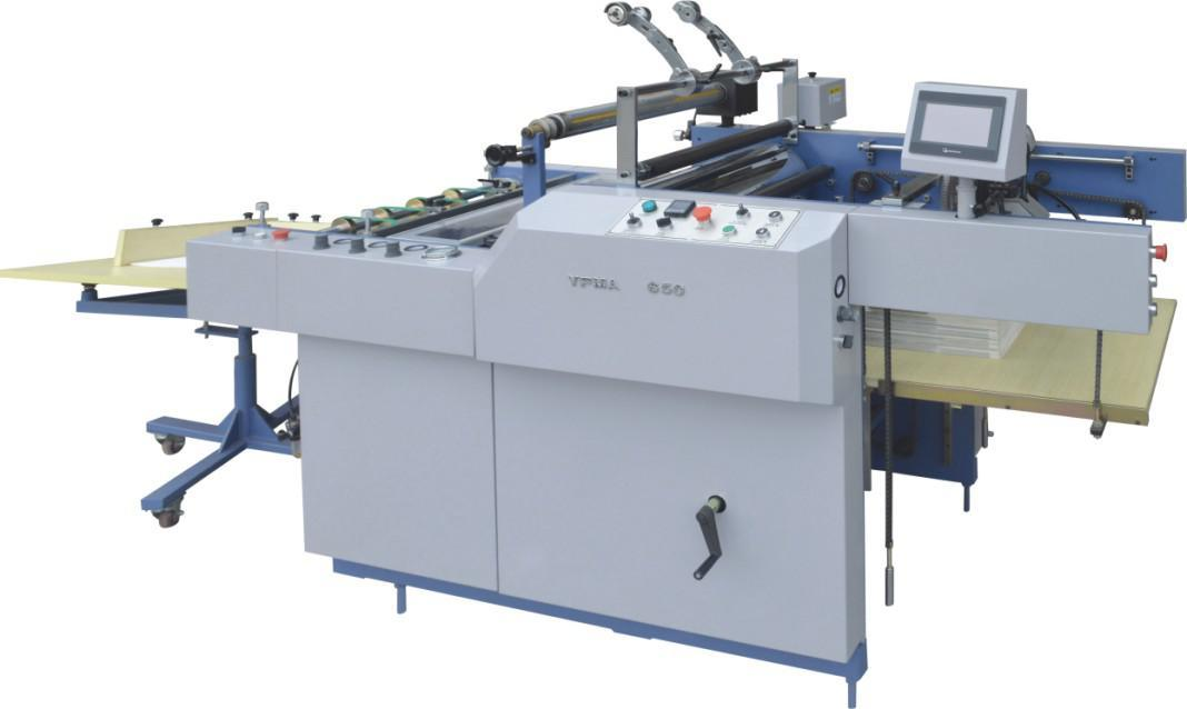 Automatic Laminating Machine for Corrugated Cardboard (SAFM-800)
