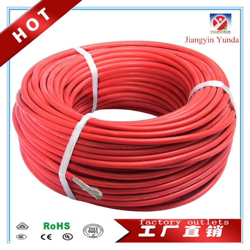 China UL3123 30 AWG Silicone Rubber Insulation Flexible Electrical ...