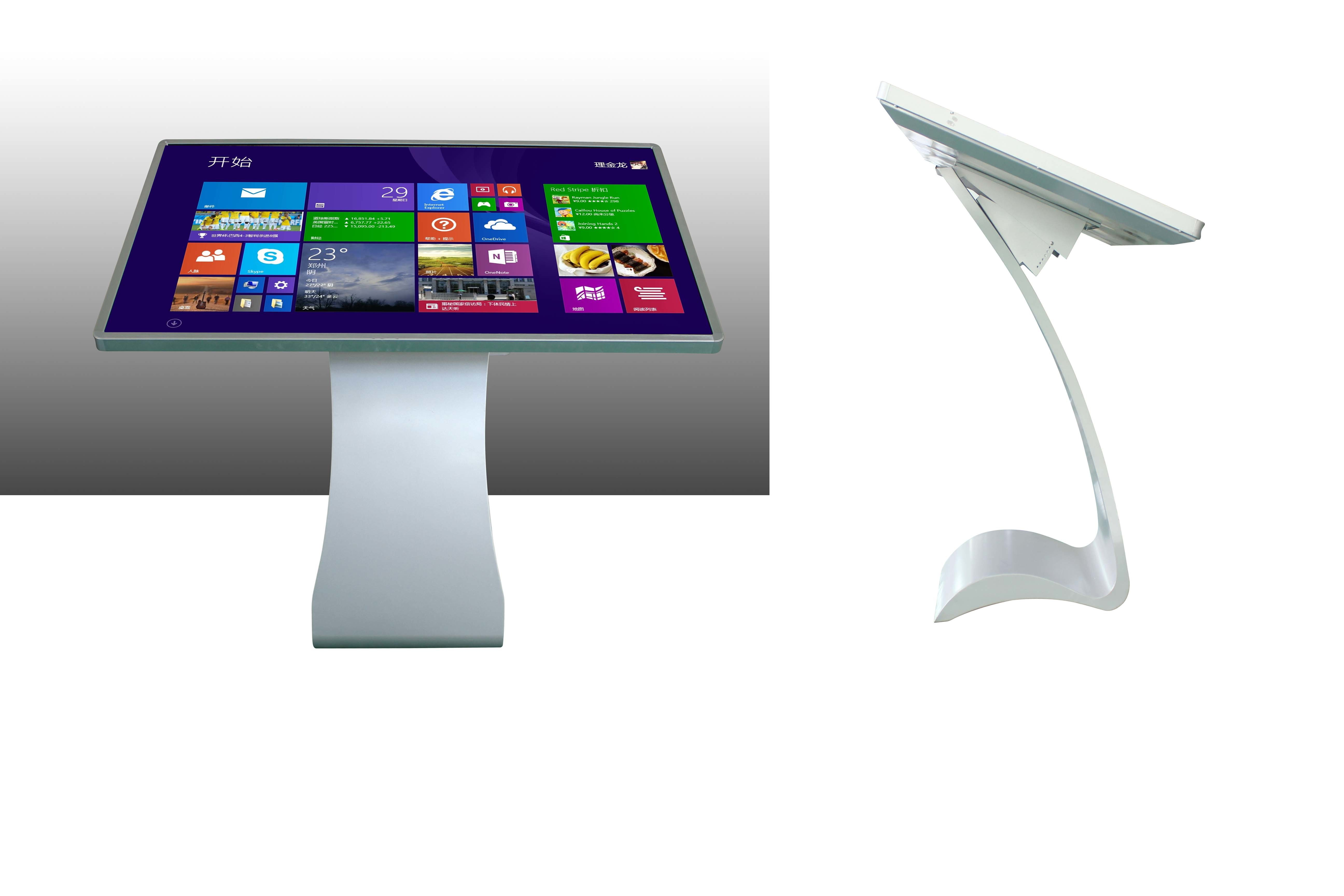 55 Inch All in One Mall Touch Screen Kiosk in The Supermarket, Bank and Hotel