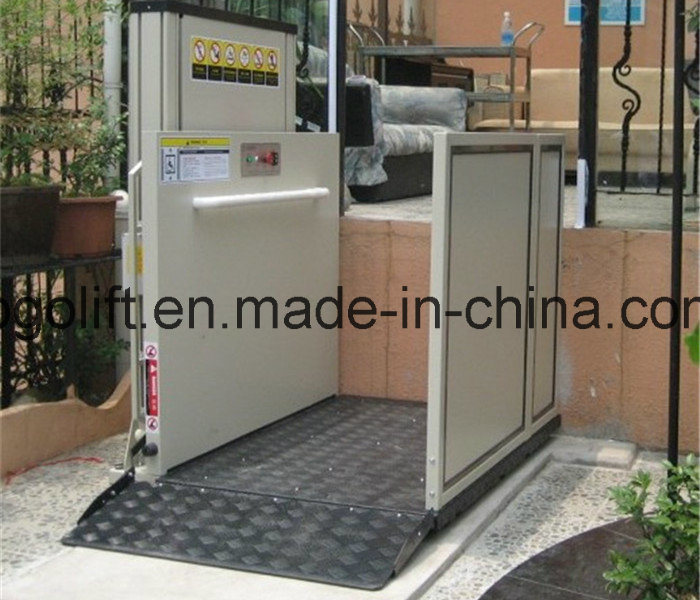 10m Electric Hydraulic Handicapped Home-Using Wheelchair Lift pictures & photos