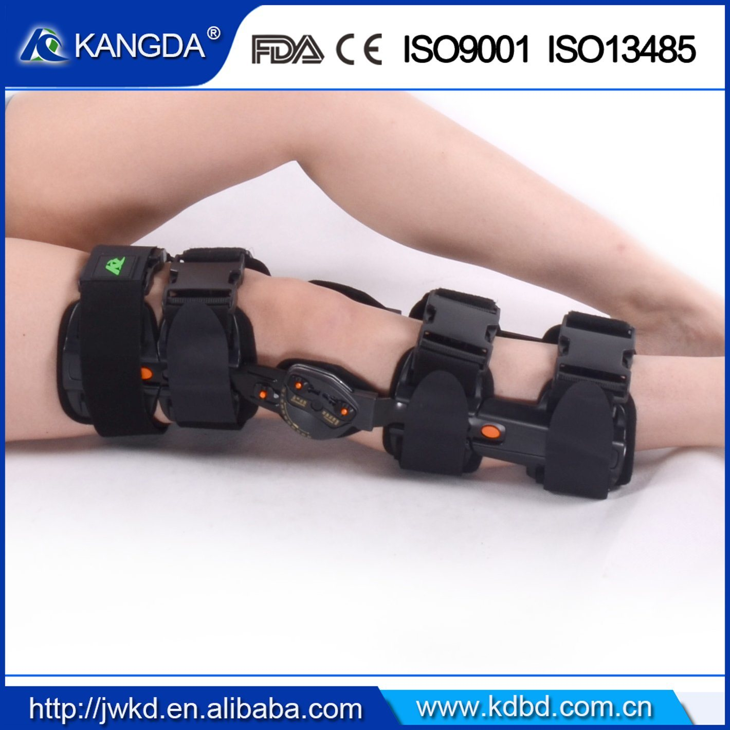 Factory Price Orthopedic Adjustable Knee Support for Rehabilitation